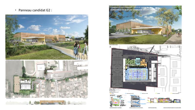 Projet en cours Coeur de Garonne - Gymnase