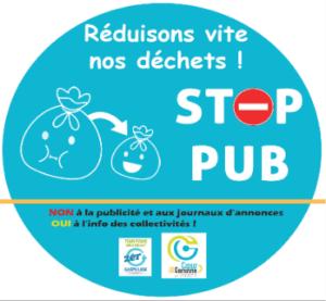stop pub Cœur de Garonne