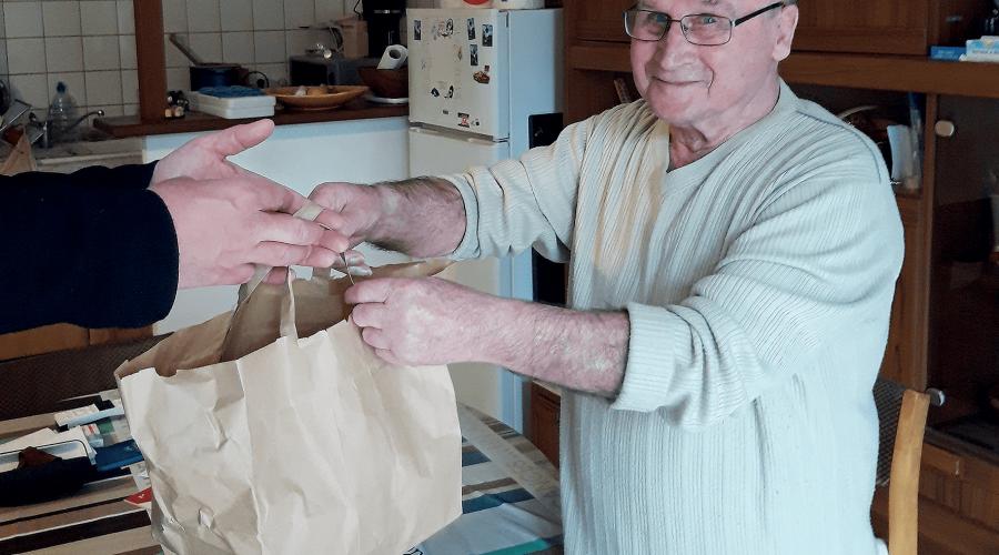 Photo portage de repas Cœur de Garonne
